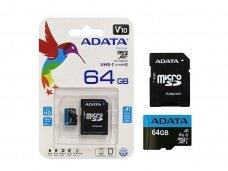 """Atminties kortelė """"ADATA"""" 64 Gb"""