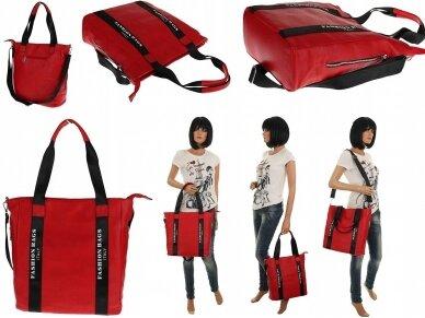 Elegantiška rankinė, pirkinių krepšys 4