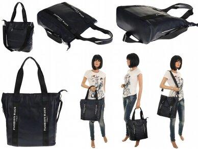 Elegantiška rankinė, pirkinių krepšys 5