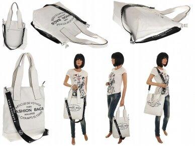 Elegantiška rankinė, pirkinių krepšys 3