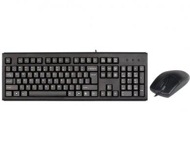 "Klaviatūra ir pelė ""A4Tech Keyboard and Mouse"""