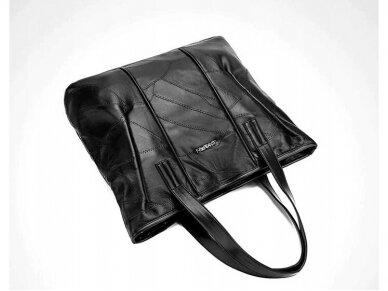 Krepšys juodos odos BOHO 6