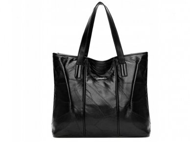 Krepšys juodos odos BOHO