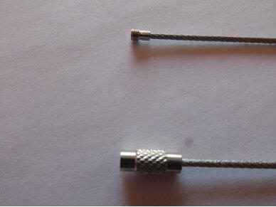 Plieniniai tvirtinimo-pakabinimo lynai (10 vnt.) 2