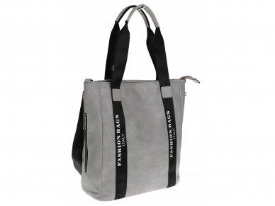 Elegantiška rankinė, pirkinių krepšys 6
