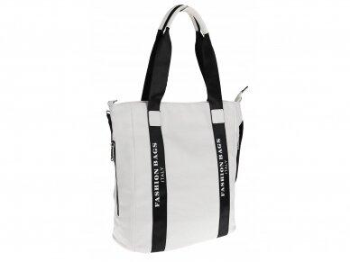 Elegantiška rankinė, pirkinių krepšys 7