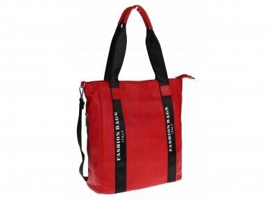 Elegantiška rankinė, pirkinių krepšys 8