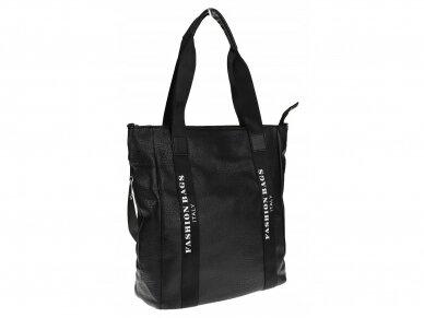 Elegantiška rankinė, pirkinių krepšys 9