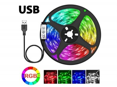 USB LED juostelė 2