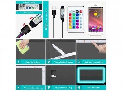 USB LED juostelė 3